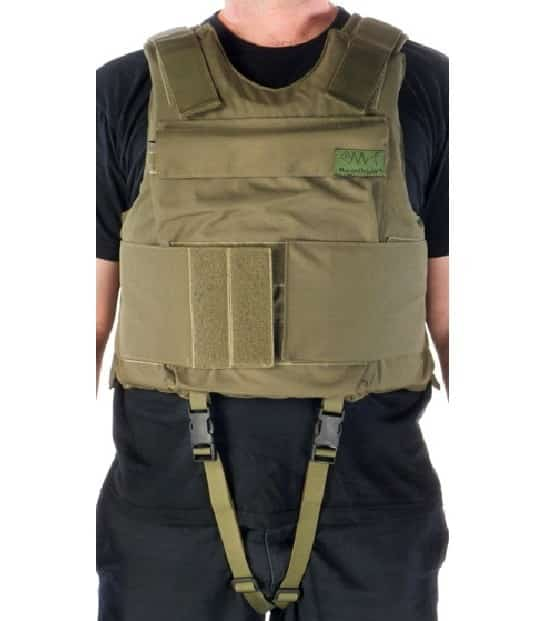 Body Armor Vest With Flotation Capability Level Of Protection III-A Or III - Model BA7924