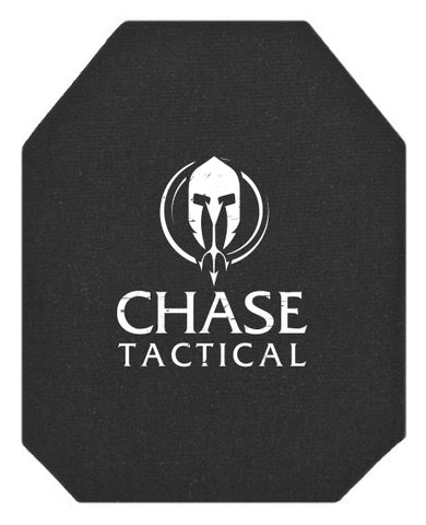 Chase Tactical AR500 Level III+ Stand Alone Rifle Armor Plate NIJ 0101.06 Certified (RHINO EXTREME COATING)