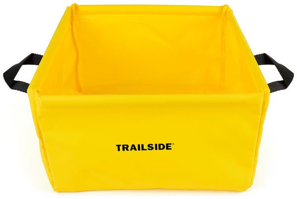 Chinook Folding Wash basin, Yellow - Forethought Survival Essentials