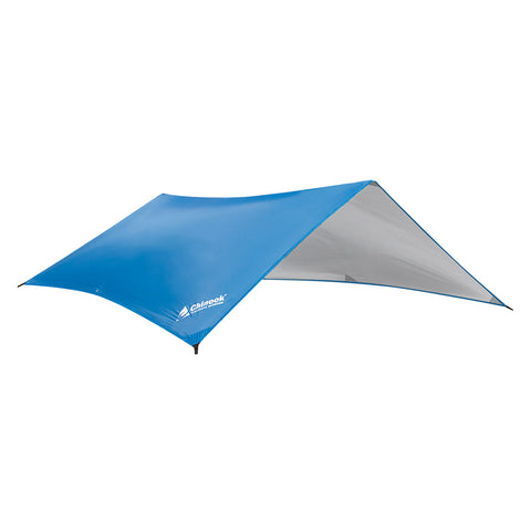 "Chinook Guide Silver-Coated Tarp 9'10"" x 6'7"", Blue"