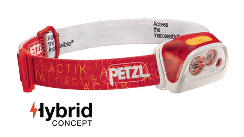 PETZL ACTIK® CORE Compact Multi-Beam Headlamp, 350 LUMENS (New Product)