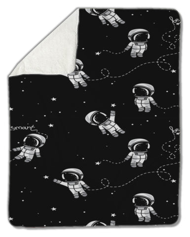 Blanket, Astronauts floating in space