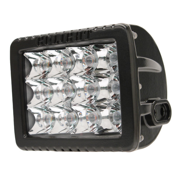 GoLight Gxl Led Fixed Mount Spotlight,Black - Forethought Survival Essentials