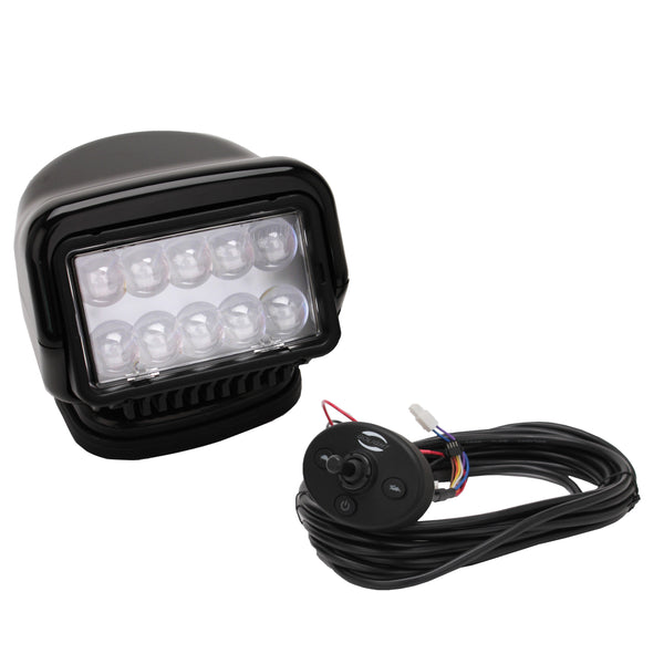 GoLight LED Stryker Wired Dash Remote Black - Forethought Survival Essentials