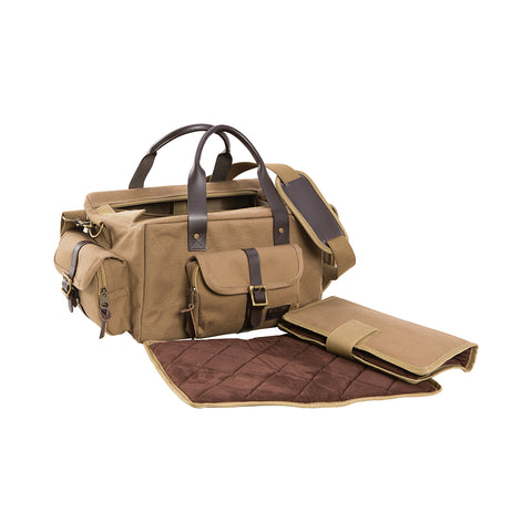 HERITAGE RANGE BAG, TAN