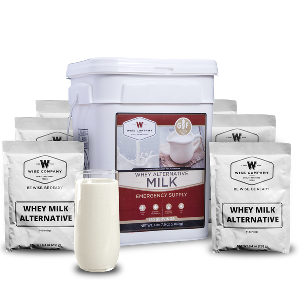 120 SERVINGS LONG-TERM MILK - Forethought Survival Essentials