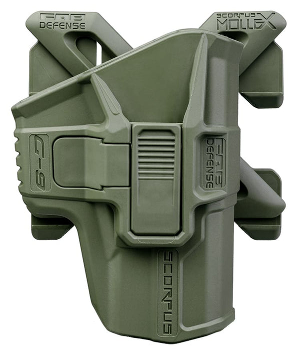 M1/MX SCORPUS Fab Defense 1911 Level 2 Holster (Paddle+Belt)