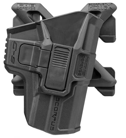 M1/MX SCORPUS Fab Defense H&K USP 9mm/.40/.45 Fullsize And Compact Level 2 Holster (Paddle+Belt)