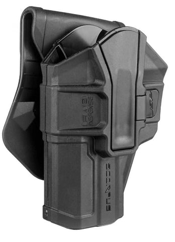 M1 SCORPUS FAB Defense H&K USP 9mm/.40/.45 Fullsize And Compact Level 1 Holster (Paddle+Belt)