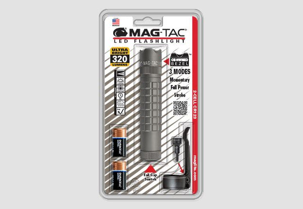 MAG-TAC® CR123 LED Flashlight, Blister Pack - Forethought Survival Essentials