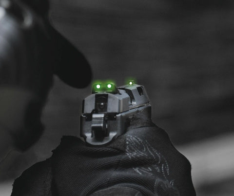 ML-10995 Meprolight Tritum Night Sights Fixed Set For Ruger P345