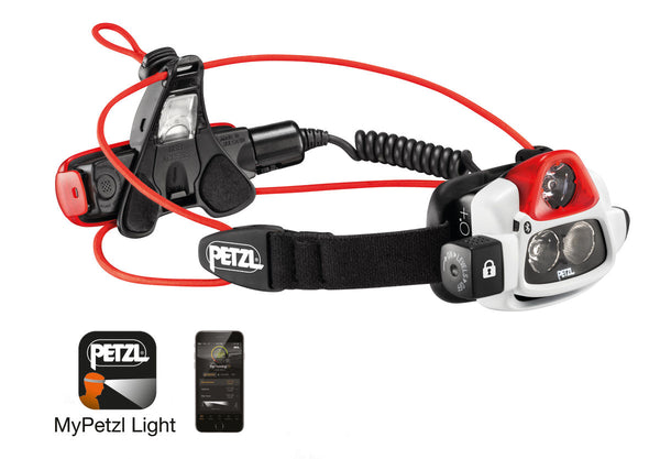 PETZL NAO® Ultra-powerful, rechargeable multi-beam headlamp.