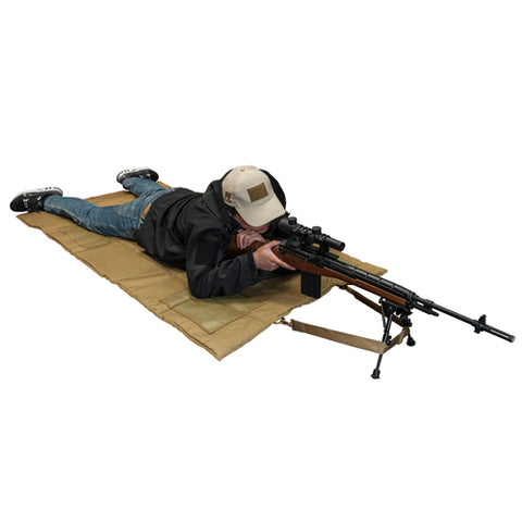 NcStar Roll Up Shooting Mat Tan