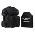 "NcStar Tactical Backpack, 10"" x 12"" Level III+ Shooter's Cut PE Hard Ballistic Plate Black"