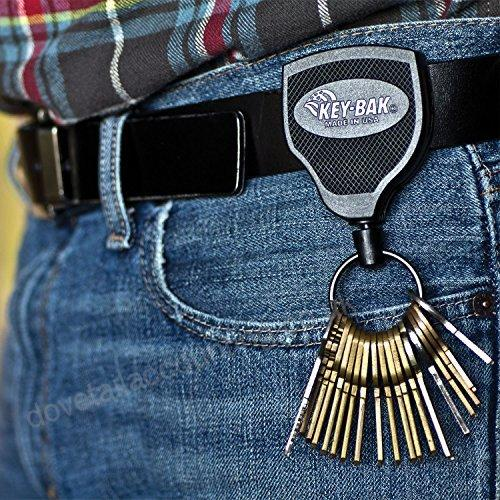 SUPER48 Heavy Duty Retractable Keychain - (new product)