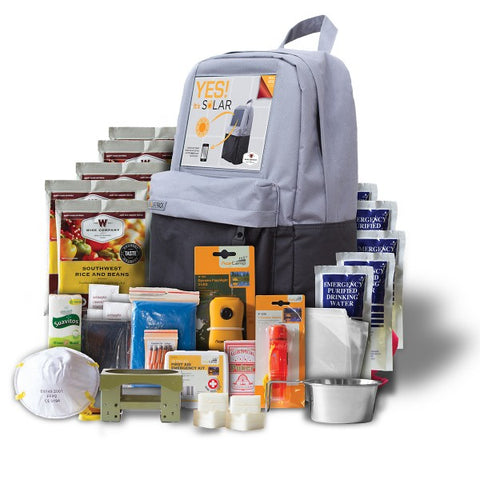 Solar Backpack Survival Kit **FREE SHIPPING**