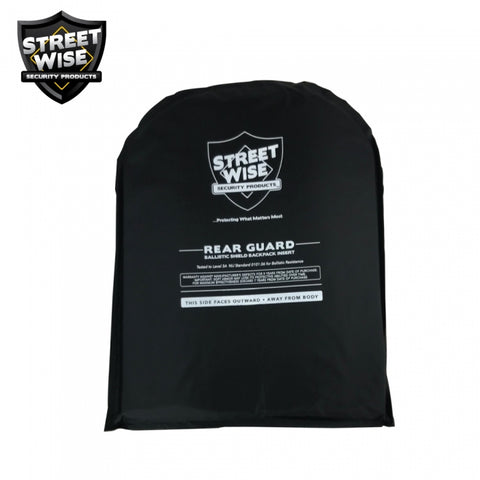 Streetwise 10x13 Rear Guard Ballistic Shield Insert
