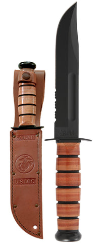 USMC KA-BAR®, Serrated Edge