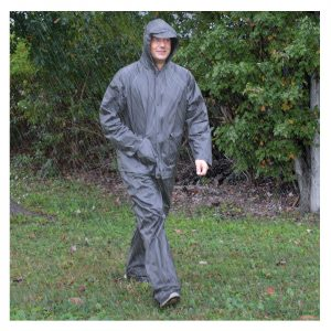 All-Weather Rain Suit Adult, Gray