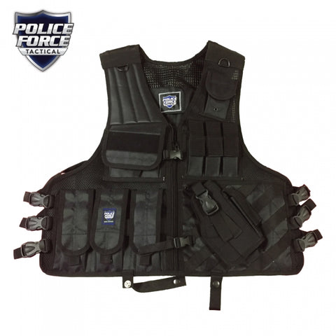 Police Force Tactical Vest (New Product)