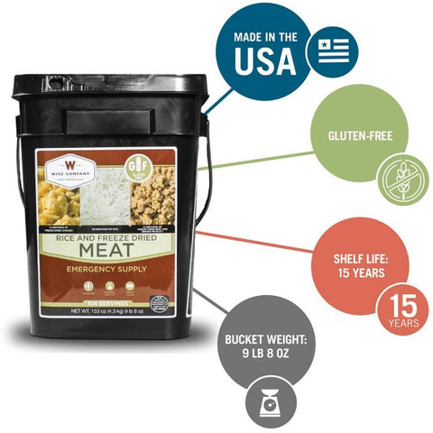 104 SERVING PROTEIN BUCKET (GLUTEN FREE) **FREE SHIPPING**