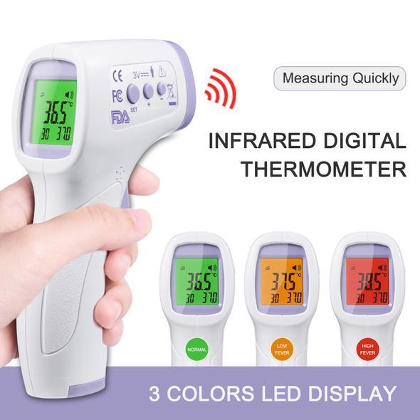 INFRARED THERMOMETER.