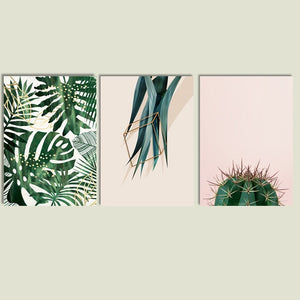 Desert Plants Canvas Prints