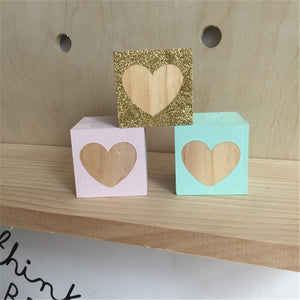 Decorative Wooden Blocks