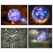 Load image into Gallery viewer, Starry Sky Nightlight Projector