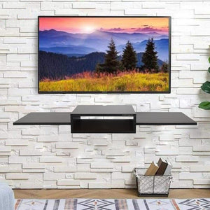 Ripplewuds Pyro TV Entertainment Unit Table Wall Mount (Wenge)