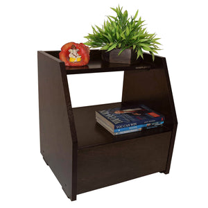 Noah Side Table with Drawer- Wenge
