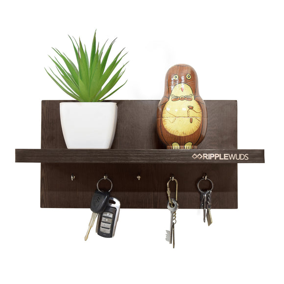 Capri Key Holder with Petty Shelf-05 Keys