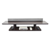 Oakville Dylan TV Entertainment Unit Table with Top Box Stand