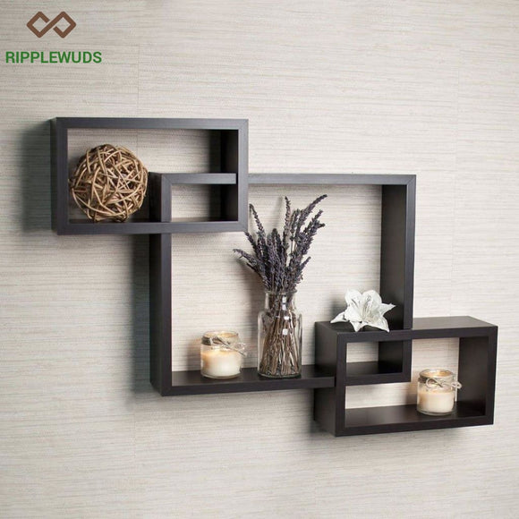 Curator Wall Shelf Wenge Shelves
