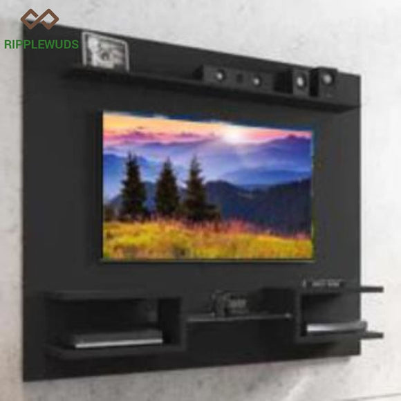 Ripplewuds Ebonised Media Console- Wenge Tv Unit