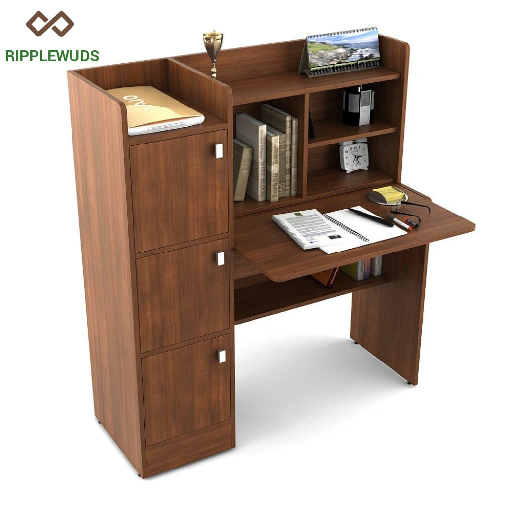 Picture of: Ripplewuds Felix Study Table Desk For Home Office Ripplewuds
