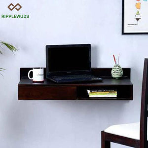 Ripplewuds Holden Study Table Desk For Home & Office (Wenge) Laptop
