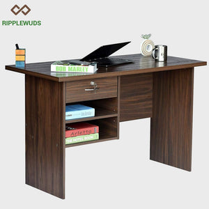 Ripplewuds Nolan Study Table Desk For Home & Office Walnut