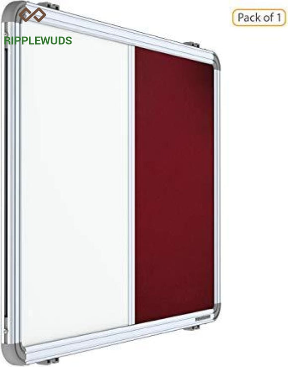 Ripplewuds Pin-Up Combination Boards 60X90 / Maroon