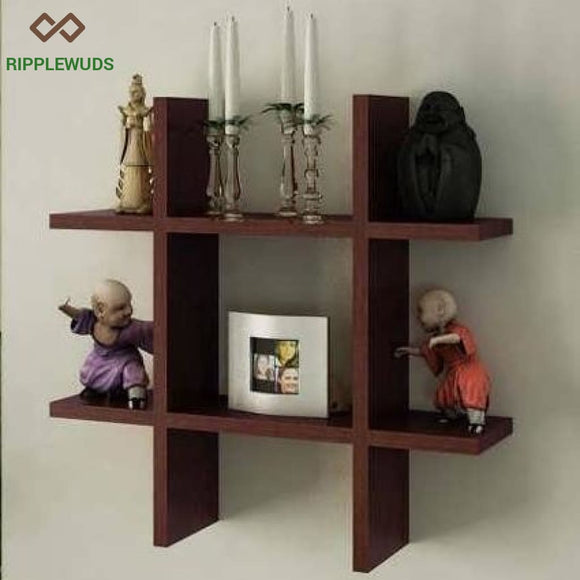 Spire Wall Shelf Wenge Shelves