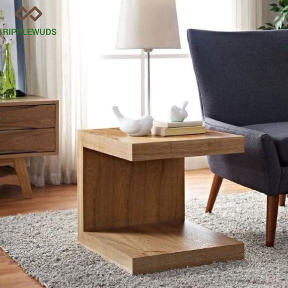 Theo Sofa Side Table Walnut