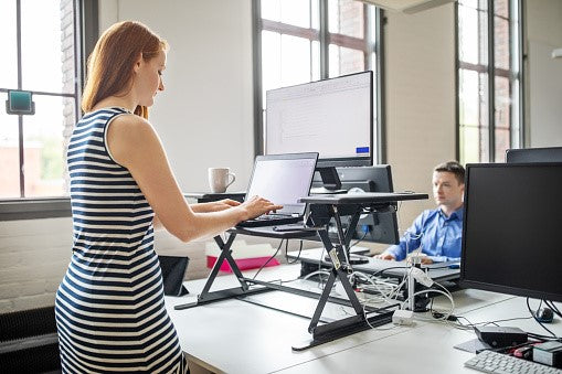 Health Benefits of a Standing Desk and Kneeling Chair