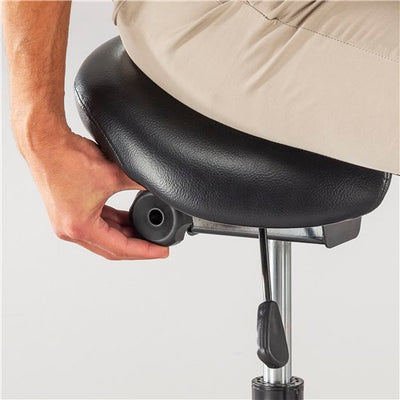 Safco Twixt® Saddle Seat Stool, Extended-Height
