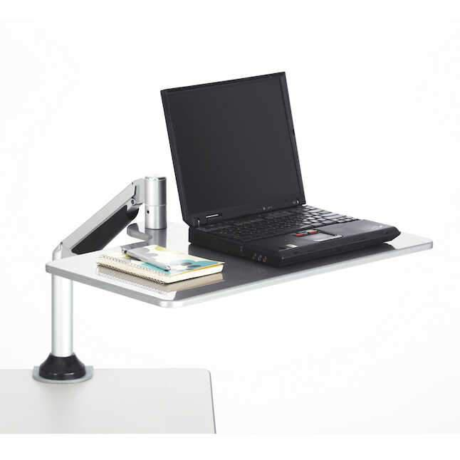 Safco Desktop Sit/Stand Laptop Workstation