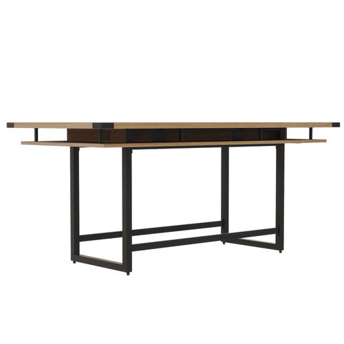 Safco Mirella™ Conference Table, Standing-Height, 8'