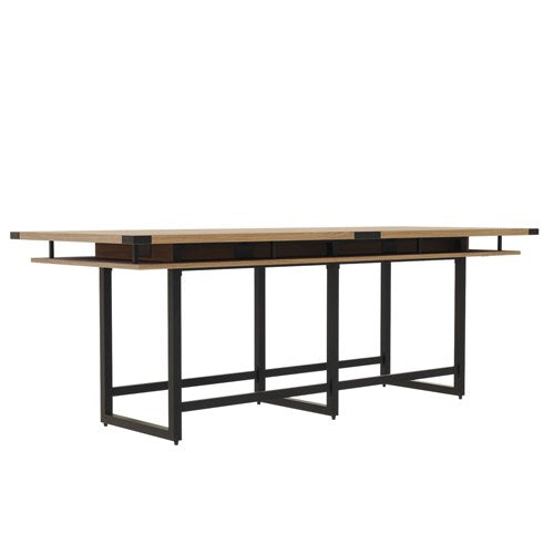 Safco Mirella™ Conference Table, Standing-Height, 10'