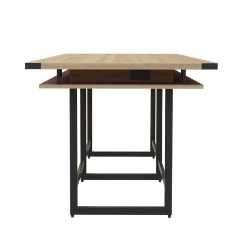 Safco Mirella™ Conference Table, Standing-Height, 12'