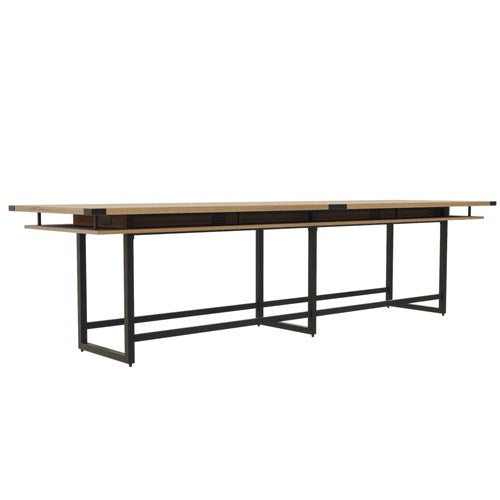 Safco Mirella™ Conference Table, Standing-Height, 14'