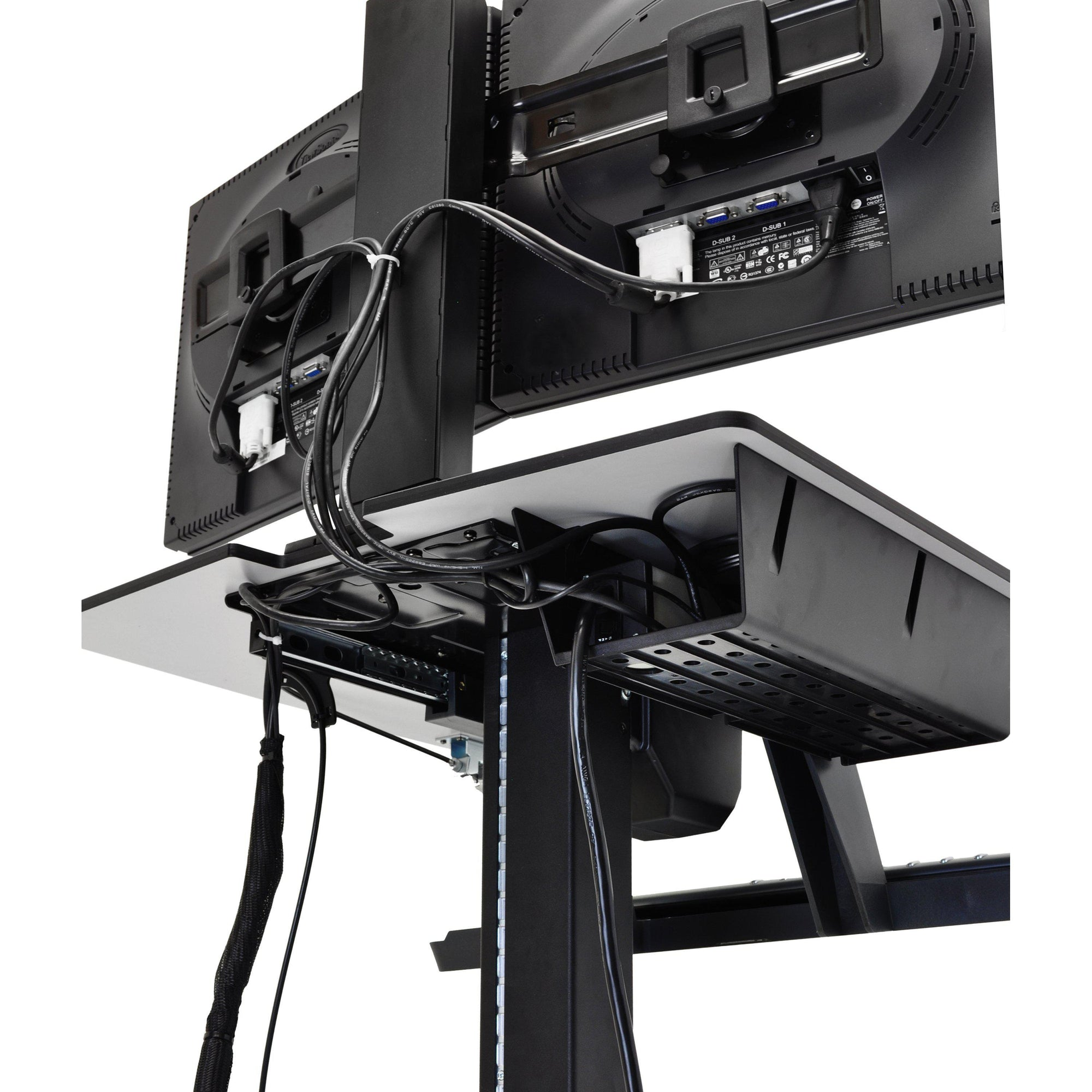 Ergotron WorkFit-C Single HD Sit-Stand Workstation 24-216-085