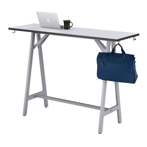 "Safco Spark™ Standing-Height Teaming Table, 60""W, 20"" D"